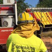 Un incendio obliga a evacuar a los vecinos del municipio castellonense de Azuébar