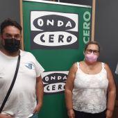 David Segovia y Balbina Espadas con Juan Carlos Fresneda