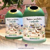 Contenedores de Ecovidrio en La Vila Joiosa