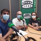 Paul Lecumberri, Pepe Requena y María Francés