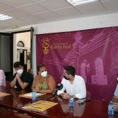 Instantes de la presentación en Puerto Real