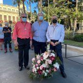 Jesús Bollit, en la ofrenda a la virgen de África en Ceuta