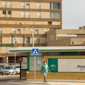 Puerta del Hospital San Carlos en San Fernando