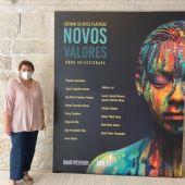 Fátima Cobo no Museo de Pontevedra