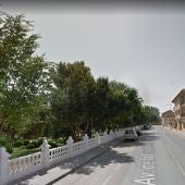 Imagen tramo Avenida de la Constitución de La Solana