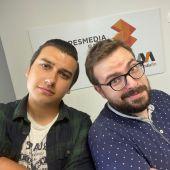 Pedro Rivero y Guiller Verdín.