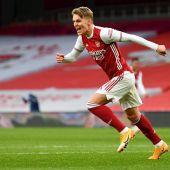 Odegaard ya es jugador del Arsenal