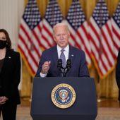 """Joe Biden afirma que la evacuación de Kabul es """"de las más difíciles de la historia"""""""