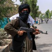 Un talibán en Afganistán