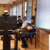 El acusado durante la vista que se celebró ayer en la Audiencia de Ciudad Real