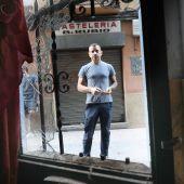 El propietario del edificio ha iniciado las obras de reforma mientras espera la salida de los últimos 'okupas'