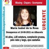 Continúa la búsqueda de María Isabel, unaavendedora de la Once desaparecida desde el jueves en Albacete