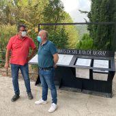 """Inauguran la ruta """"La Sendas del Agua"""" recuperando patrimonio hidráulico industrial en el entorno de Las Reales Fábricas de Bronce"""