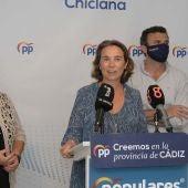 Cuca Gamarra hoy en Chiclana