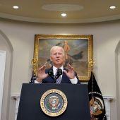 El presidente de Estados Unidos, Joe Biden, habla en conferencia de prensa en la Casa Blanca, en Washington