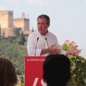 El alcalde de Sevilla y candidato a la Presidencia de la Junta, Juan Espadas