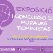 La Fundación de la Mujer acoge una exposición con todas las obras que participaron en el I Concurso de Murales Feministas