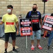Empresaris del sector fan una vaga de fam des de dimarts en protesta pel tancament de l'oci nocturn