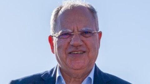 El presidente del Cabildo de La Gomera, Casimiro Curbelo