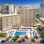 La cadena hotelera Servigroup reabre los hoteles Orange y Calypso de Benidorm.