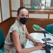 Eva Masías durante la entrevista en Onda Cero Ciudad Real