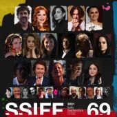 Protagonistas de la 69 edición del Festival de Cine