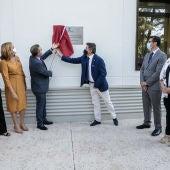 Page y Sierra inauguran la reforma de la segunda fase del colegio San Isidro