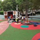 8 millóns de euros para mellora de parques infantís