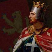 En 1189 en la abadía de Westminster, Ricardo Corazón de León es coronado rey