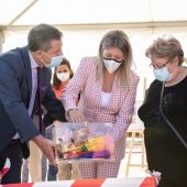 García-Page y la alcalde de Tomelloso colocan la primera piedra del nuevo centro de salud