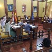 Imagen pleno Ayuntamiento de Valdepeñas