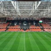 Mestalla acogerá 20.000 aficionados para la visita del Real Madrid