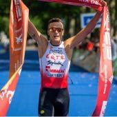 David Castro se proclamó  Campeón de España de triatlón en Banyoles (Girona)