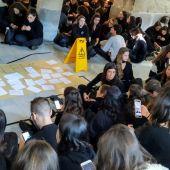 Protesta estudiantes Medicina