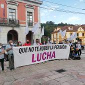 La Caravana reivindicativa por las pensiones deja su mensaje en la comarca