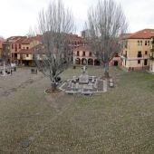 Panorámica de la Plaza del Grano