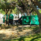 Nueva maquinaria de parques y jardines en Onda Cero