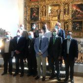 La Consejería de Cultura y Turismo y la Fundación Iberdrola España ponen en valor el retablo mayor de la iglesia de San Martín en Villarmentero de Campos