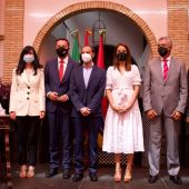 Instantes de la entrega de los premios del Círculo de Artesanos de Sanlúcar