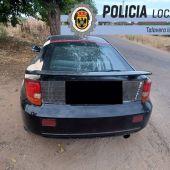 Interceptado un conductor cuando circulaba por Talavera la Real sin puntos en el carné y tras condumir drogas