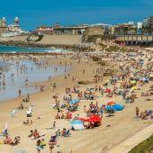 Playa de Santa María, en Cádiz