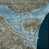 La CHS puede solicitar a la Generalitat ampliar la capacidad hidráulica del cauce viejo del Segura en su desembocadura por seguridad ciudadana