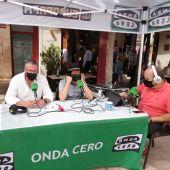 Raul Galván en el especial de Feria