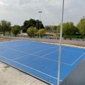Pista deportiva del IES Francisca de Pedraza de Alcalá de Henares