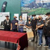 Eneko Goiburu gana el concurso de queso de Ordizia