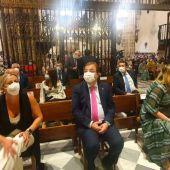 Un acto religioso en el Real Monasterio de Guadalupe y mensajes en positivo centran la celebración del Día de Extremadura