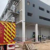 Accidente laboral en una nave en construcción en Alcalá de Henares