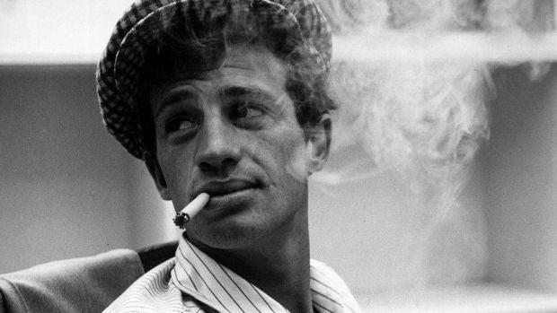 El actor Jean-Paul Belmondo, en una imagen de archivo