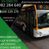 ¿Esta funcionando la reforma del bus urbano?