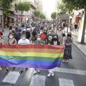 Manifestación 'Elx Orgullosa 2021'.